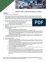 Regulamin Oferty Promocyjnej Przejdź Na Red Bull Mobile Energy 23.12.2015