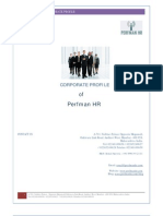 Perfman HR - Corporate Profile