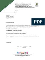 Carta Museo Del Oro Maleta