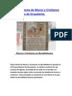 Fiestas de Moros y Cristianos en la Sierra de Grazalema. (Benamahoma)