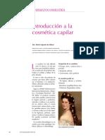Introducción a La Cosmetica Capilar