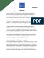 HRWVenezuela2015 Informe Ene2016