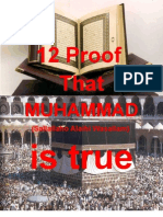 12 Proof That MUHAMMAD (SAW) is true