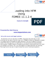 Oracle  Data Loading Into HFM by FDMEE