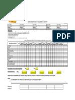 Formato - Pre Uso Equipos Mezcladora