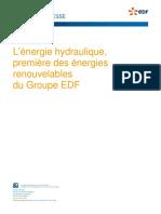EDF - Hydraulique