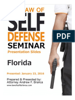 Law of Self Defense Seminar