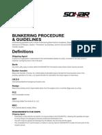Sohar BunkeringProcedureandGuildlines New