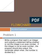FlowChart Lecture in Programming