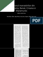Dictionarul Manastirilor Din Transilvania, Banat, Crisana