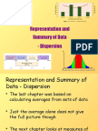 3) S1 Representation and Summary of Data - Dispersion