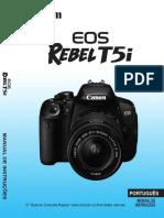 Manual Canon EOS Rebel T5i