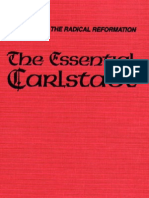 The Essential Carlstadt