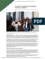 De Jeunesse Sans Avenir Au Parlement Espagnol_ l'Ascension d'Un Jeune «Indigné»