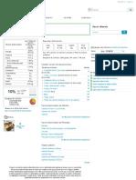 Calorías en Salmón Cocinado e Información Nutricional