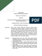 Permen35-2010 Tentang Petunjuk Teknis Pelaksanaan Jabatan Fungsional Guru Dan Angka Kreditnya