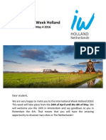 Invitation Letter IW Holland