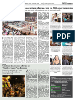Diário Oficial – Minha casa, Minha vida sorteio - julho/2015