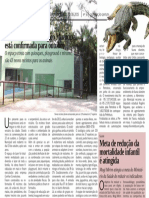 Diário Oficial – Zoológico será reaberto - agosto/2015