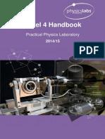 Physics Laboratory Handbook