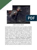 Sobre El Día Del Minero