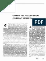 Genesis del Vínculo entre Cultura y Violencia.pdf