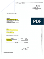Invoice Between UTMB Galveston and Planned Parenthood Gulf Coast