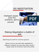 Mistakes in Negotiation