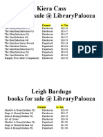librarypalooza book pricing