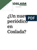 Coslada Actualidad. Nº1 Diciembre 2015