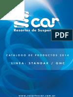 Catalogo 2014 Resortes Car