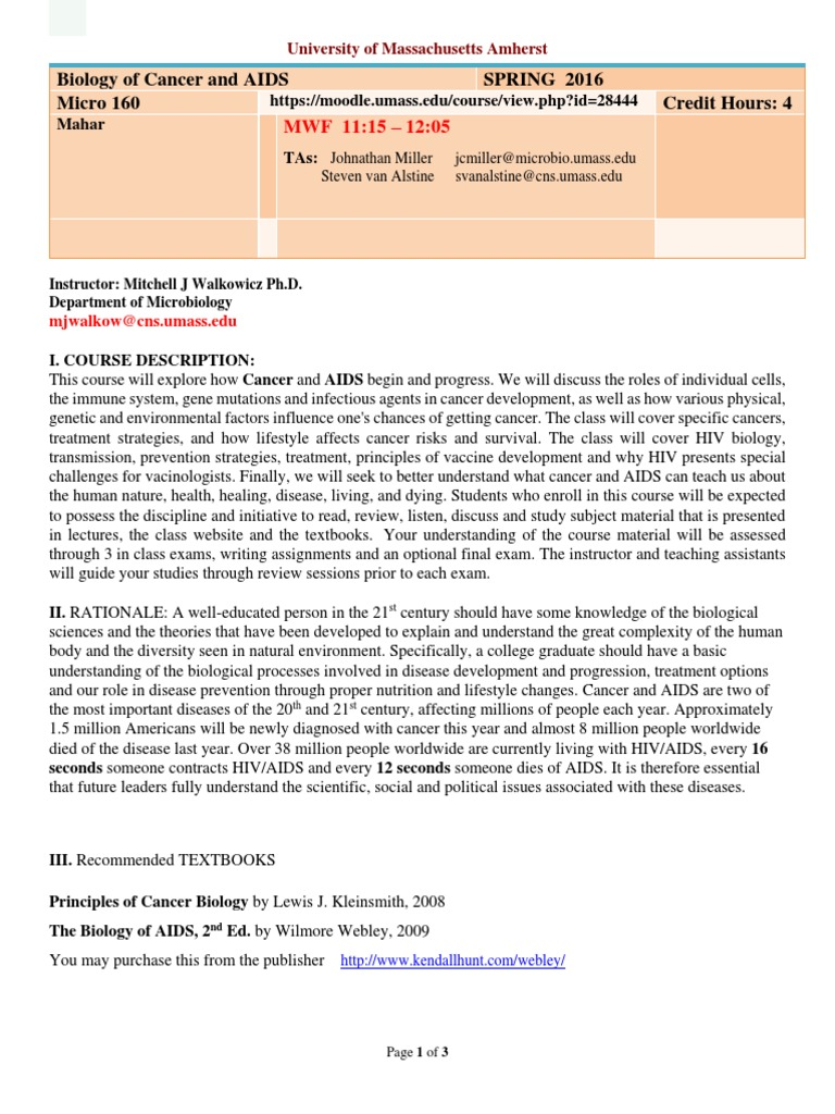 Microbio Syllabus Hivaids Lecture