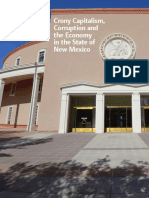 Crony Capitalism in the State of New Mexico