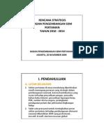 Renstra BPSDM 2010-2014