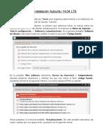 Post Instalacion Xubuntu 14 04 Por Yonro
