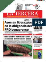 Diario La Tercera 28.01.2016