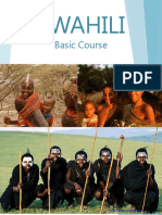 FSI - Swahili Basic Course - Student Text