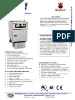 Pitco Model PH-SEF184