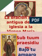 La Oración Más Antigua a La Virgen María