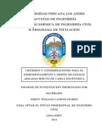 Informe Sustentacion  Ingenieria Civil