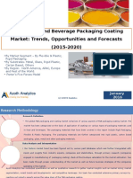 Global Food and Beverage Packaging Coating Market