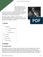 Jazz Piano - Wikipedia, The Free Encyclopedia