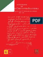 Autografos Cervantes