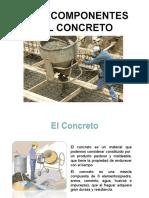 componentes del concreto armado