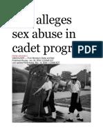 26 Jan 2004 - Suit Alleges Sex Abuse in Cadet Program
