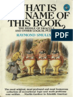 Book is this raymond what of smullyan name the