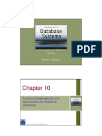 Chapter 10 Functional Dependencies & Normalization
