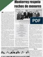 28-01-16 Impulsa Monterrey respeto de los derechos de menores