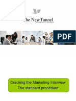 Cracking the Marketing Interview
