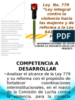 Ley 779 Noviembre 2013